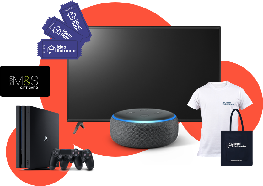 ideal giveaway | Free Online Competition | ideal flatmate